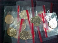 14   2000 D SACAGAWEA DOLLARS  BU FROM MINT SETS IN CELLO