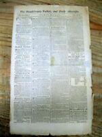 1787 NEWSPAPER NUMISMATICS NEWS OF EARLY COPPER COINS MINTED IN NEW JERSEY