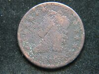 1810 CLASSIC HEAD LARGE CENT TOUGH DATE VG DETAILS CORRODED