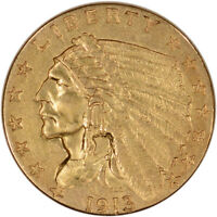 US GOLD $2.50 INDIAN HEAD QUARTER EAGLE   EXTRA FINE   RANDOM DATE