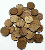 LOT OF 45 1953-D LINCOLN WHEAT CENTS - PENNY  CONDITION COINS