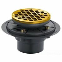 KOHLER K 9135 BGD TILE IN ROUND SHOWER DRAIN BRUSHED GOLD