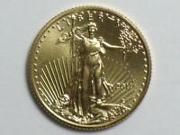 2011 $5 AMERICAN GOLD EAGLE 1/10 OZ   TENTH OUNCE AGE