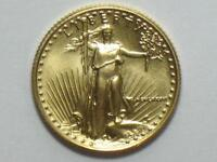 1986 $5 AMERICAN GOLD EAGLE 1/10 OZ   TENTH OUNCE AGE