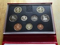 ROYAL MINT PROOF SET 1989 BILL OF RIGHTS 2 TWO POUNDS TO PEN