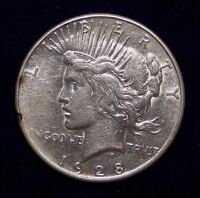 SEMI KEY DATE 1928 S PEACE SILVER DOLLAR  OLD U.S. TYPE COIN PROBLEM FREE