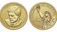 2015 P&D JOHN F. KENNEDY PRESIDENTIAL DOLLAR SET FROM MINT ROLLS UNCIRCULATED