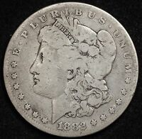 1882 MORGAN SILVER DOLLAR WHICH VAM IS IT? WE DON'T KNOW.  CIRCULATED.  106996