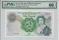 ISLE OF MAN ISLE OF MAN GOVERNMENT   50 POUNDS ND  1983 . PM