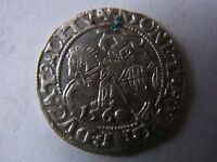 LITHUANIAN 1/2 GROSCH SILVER COIN 1560
