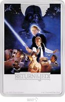 2017 STAR WARS POSTER COIN   RETURN OF THE JEDI   1 OZ. SILVER COIN    3RD COIN
