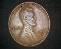 1934-D LINCOLN WHEAT CENT 12546