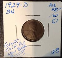 1929-D 1C BN LINCOLN CENT