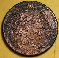 1803 LARGE CENT.  FINE DETAIL.  92738
