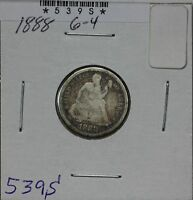 1888 SEATED DIME G