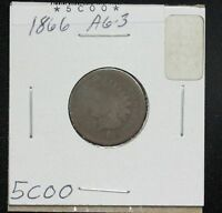 1866 INDIAN CENT G