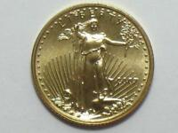 2007 $5 AMERICAN GOLD EAGLE 1/10 OZ   TENTH OUNCE AGE