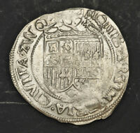 1612 NETHERLANDS ZWOLLE. NICE SILVER 6 STUIVERS  SCHELLING  COIN. CLEANED AXF