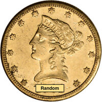 US GOLD $10 LIBERTY HEAD EAGLE   VF   RANDOM DATE