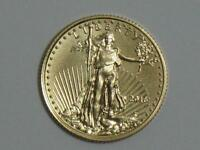 2016 $5 AMERICAN GOLD EAGLE 1/10 OZ   TENTH OUNCE AGE