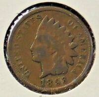 1893 INDIAN HEAD ONE CENT - 1 COIN @C