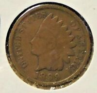 1899 INDIAN HEAD ONE CENT - 1 COIN @C