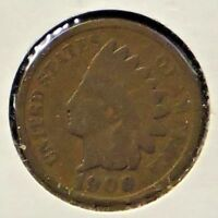 1900 INDIAN HEAD ONE CENT - 1 COIN @C