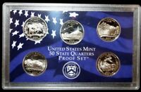 2006 S US MINT STATE QUARTERS PROOF SET NO BOX NO COA