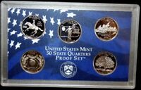 1999 S US MINT STATE QUARTERS PROOF SET NO BOX NO COA