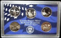 2003 S US MINT STATE QUARTERS PROOF SET NO BOX NO COA