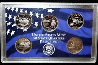 2002 S US MINT STATE QUARTERS PROOF SET NO BOX NO COA