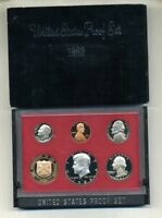 1982 S UNITED STATES PROOF SET ORIGINAL BOX