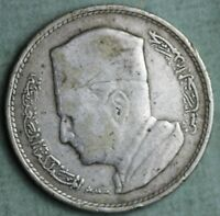 MOROCCO 1960 AH1380 SILVER FRANC COMBINED S.& H.