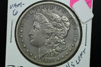 1885-S/S MORGAN DOLLAR EXTRA FINE  VAM-6 REPUNCHED MINT MARK
