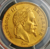 Click now to see the BUY IT NOW Price! 1869 FRANCE  2ND EMPIRE  NAPOLEON III. LARGE GOLD 100 FRANCS COIN. PCGS MS 62
