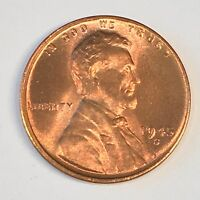 1945-S LINCOLN CENT -  UNCIRCULATED - HIGH QUALITY SCANS C355