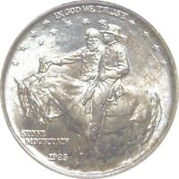 1925 STONE MOUNTAIN COMMEMORATIVE--ANACS--MINT STATE 64