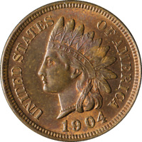1904 INDIAN CENT GREAT DEALS FROM THE TECC BARGAIN BIN