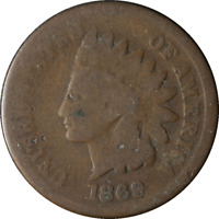 1869 INDIAN CENT GREAT DEALS FROM THE TECC BARGAIN BIN