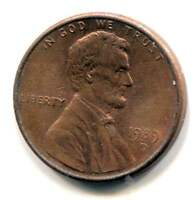 1989 D LINCOLN MEMORIAL PENNY AMERICAN ONE CENT COIN DENVER MINT