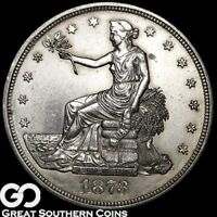 1873 CC TRADE DOLLAR HIGHLY COVETED LOW MINTAGE KEY DATE  TH