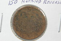 1864 TWO CENT G  150 ROTATED REVERSE ERROR