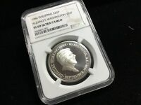 NGC PF 69 PROOF ULTRA CAMEO SILVER 1986 PHILIPPINES 25 PISO