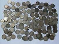 168G PRE 1920 SILVER 3D THREEPENCE JOEYS / COINS VICTORIA ED