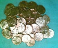 BU ROLL OF 1976 D LINCOLN CENTS