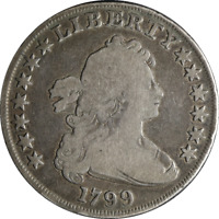 1799 BUST DOLLAR  G/VG GREAT EYE APPEAL GREAT VALUE