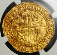 Click now to see the BUY IT NOW Price! 1454 CASTILE & LEON  SPAIN  JOHN II. GOLD