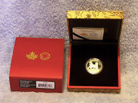 2018 $150 GOLD PROOF COIN   YEAR OF THE DOG   ROYAL CANADIAN