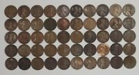 1913 P LINCOLN WHEAT CENT PENNY 1C CULLS 100 COINS PHILADELPHIA