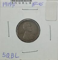 1919-S WHEAT CENT EXTRA FINE